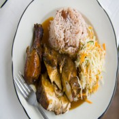 Stew Chicken Dinner